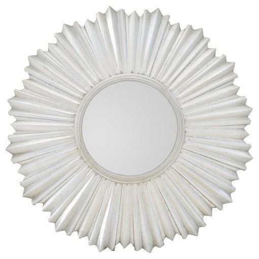Allure Round Mirror by Bernhardt at Fisher Home Furnishings