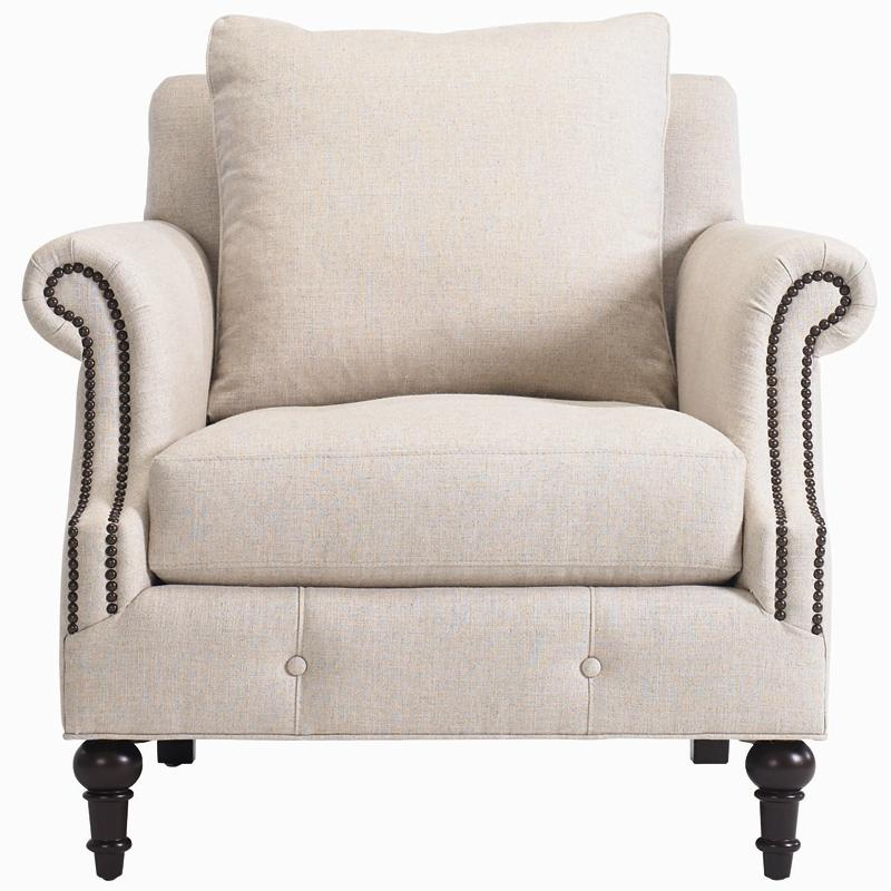 Bernhardt Interiors - Angelica Upholstered Chair - Item Number: N6172