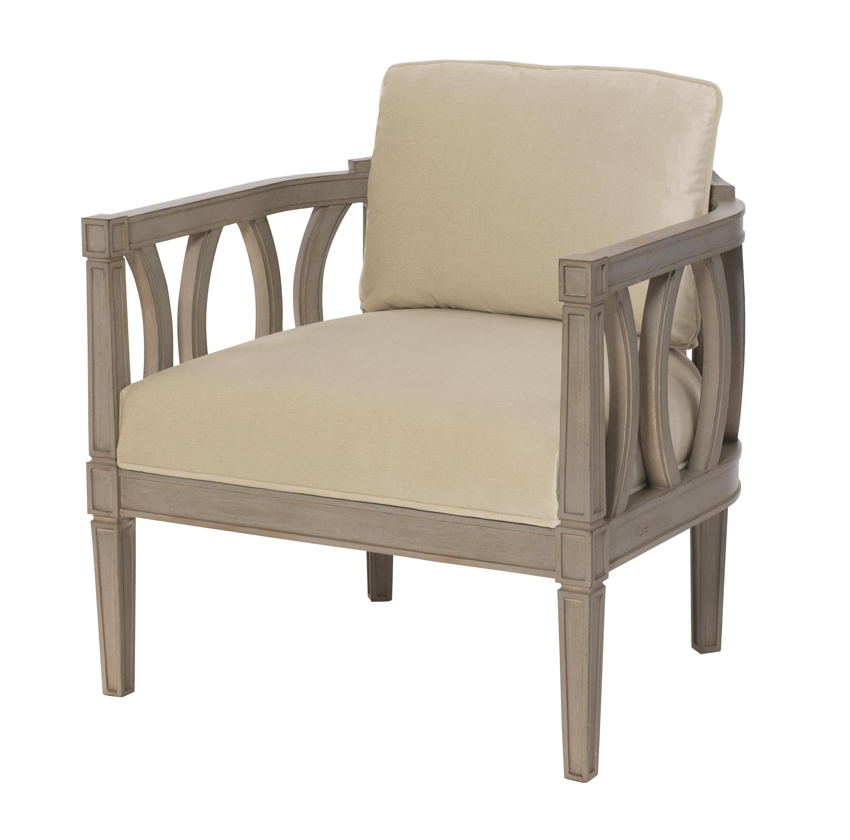 Bernhardt Ansley Upholstered Chair - Item Number: B8003-2838-002