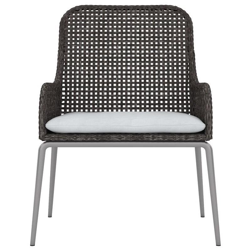 Outdoor/Indoor Wicker Arm Chair