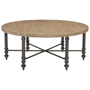 Bernhardt Antiquarian Round Cocktail Table