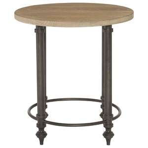 Bernhardt Antiquarian Round End Table