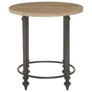 Bernhardt Antiquarian Round End Table