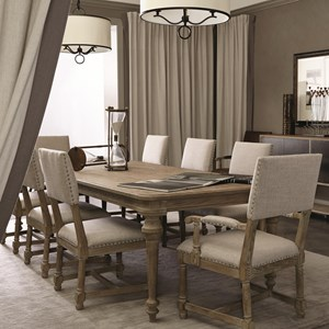 Bernhardt Antiquarian 9 Piece Dining Set