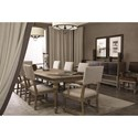 Bernhardt Antiquarian Dining Table with 2 Leaves