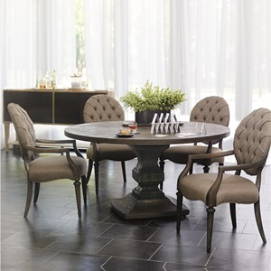 Bernhardt Antiquarian 5 Piece Dining Set