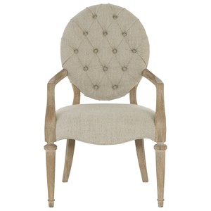 Bernhardt Antiquarian Arm Chair