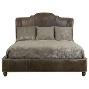 Bernhardt Antiquarian King Upholstered Bed