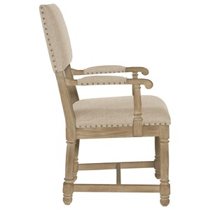 Bernhardt Antiquarian Customizable Arm Chair
