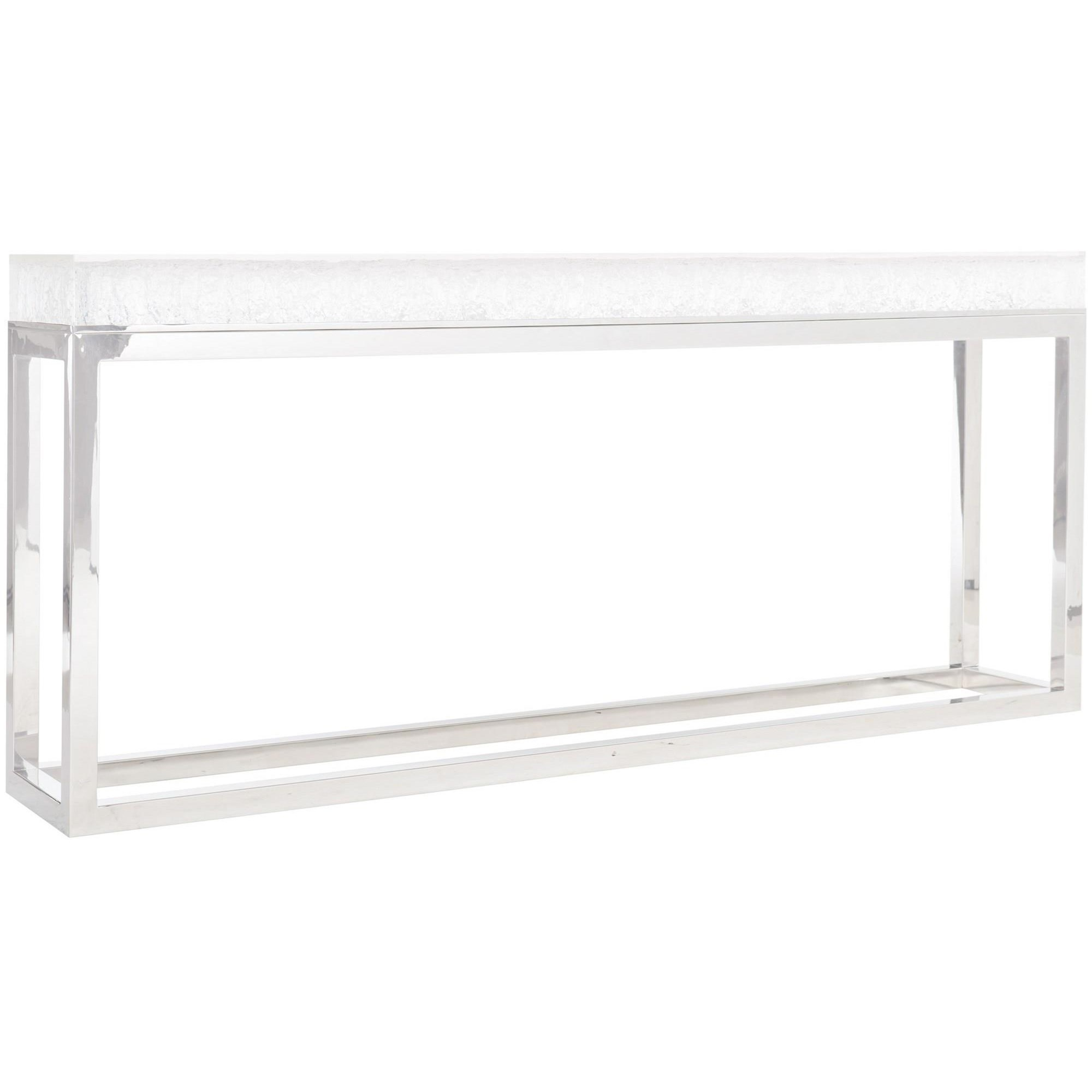 Arctic Console Table by Bernhardt at Fisher Home Furnishings