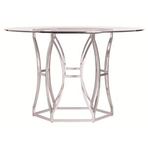 Bernhardt Argent  Argent Round Dining Table