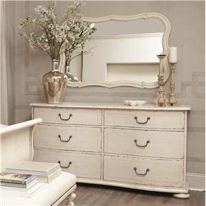 Bernhardt Auberge Dresser and Mirror Set