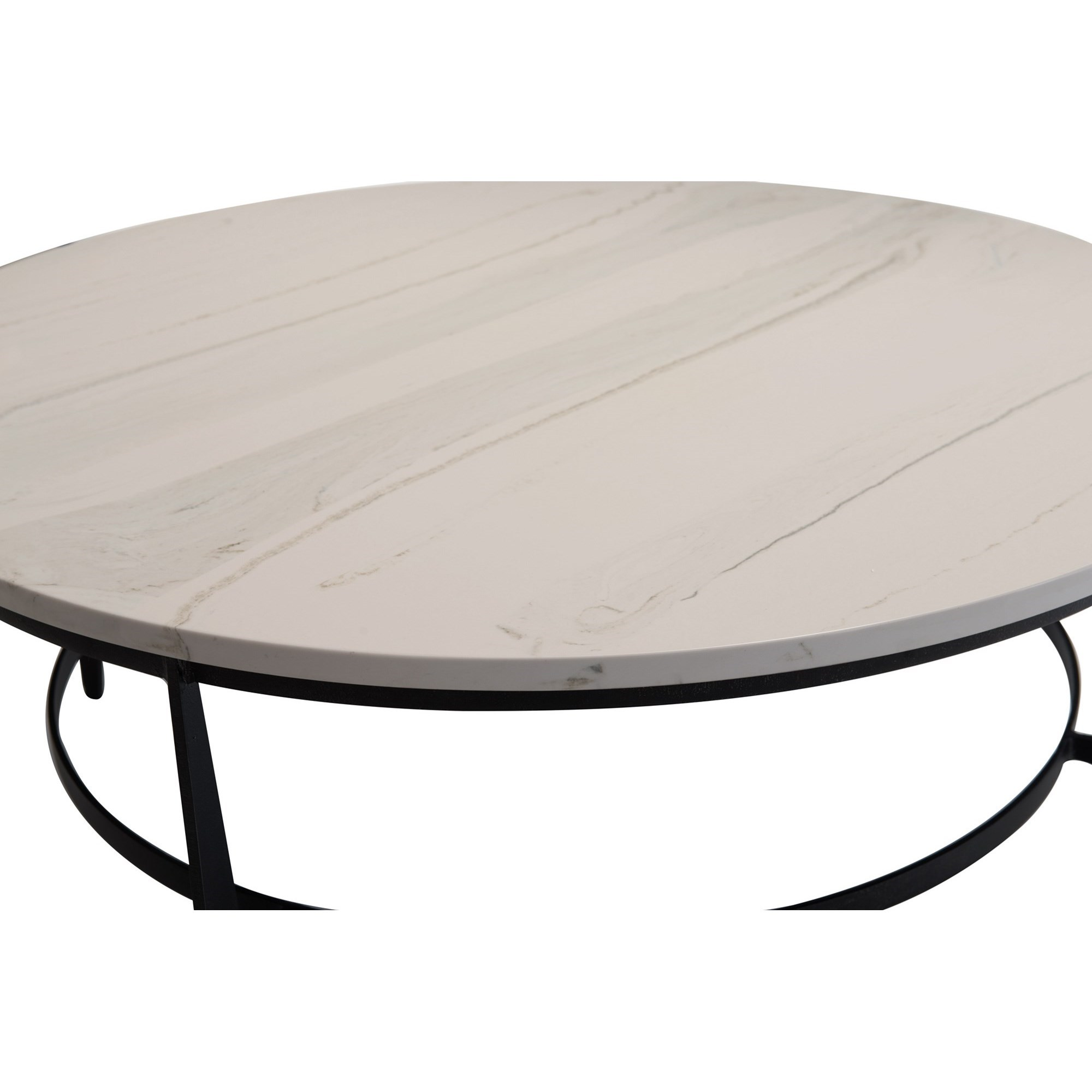 Bernhardt Avondale Contemporary Oval Metal Cocktail Table
