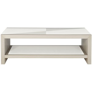 Bernhardt Axiom Rectangular Cocktail Table