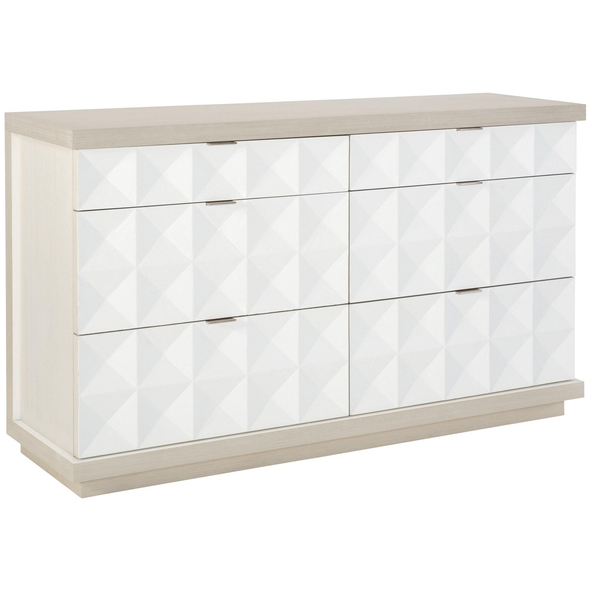 Bernhardt Axiom 381 056 Contemporary Dresser With 6