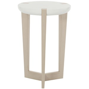 Bernhardt Axiom Round Chairside Table