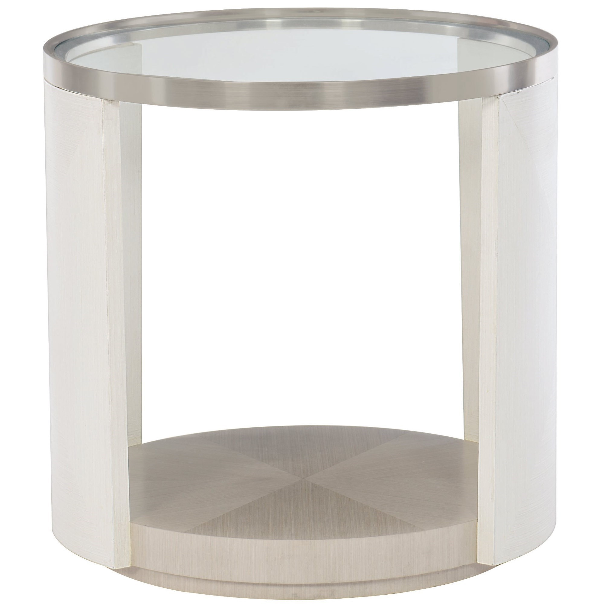 Bernhardt Axiom 381 125 Contemporary Round Chairside Table
