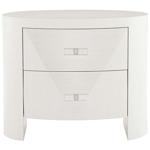 Bernhardt Axiom Oval Nightstand