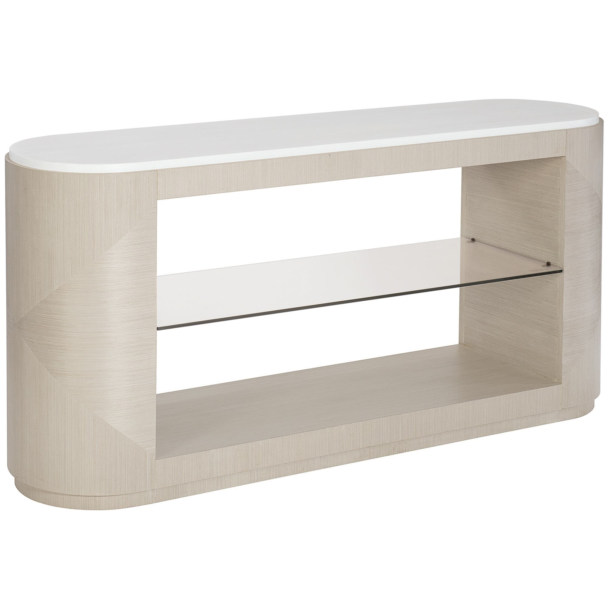 Bernhardt Axiom 381 910 Contemporary Console Table With 1