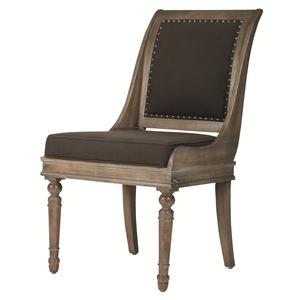 Bernhardt Belgian Oak Dining Chair