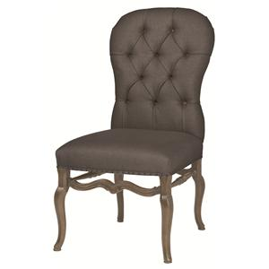 Bernhardt Belgian Oak Side Chair