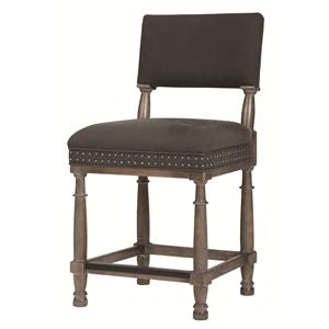 Bernhardt Belgian Oak Counter Stool