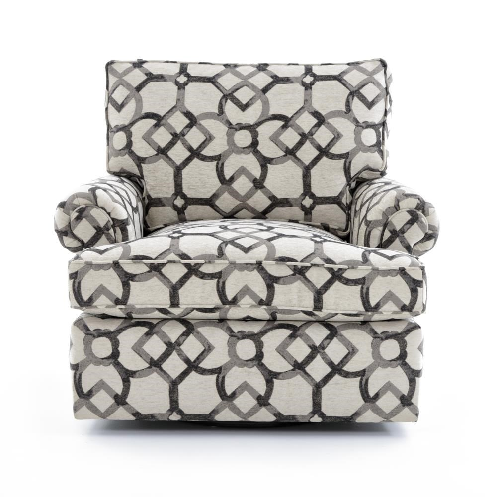 Signature Seating Customizable Swivel Chair by Bernhardt at Baer's Furniture