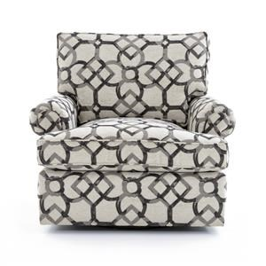 Bernhardt Signature Seating Customizable Swivel Chair