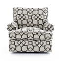 Bernhardt Signature Seating Customizable Swivel Chair - Item Number: S04414X 2140-211