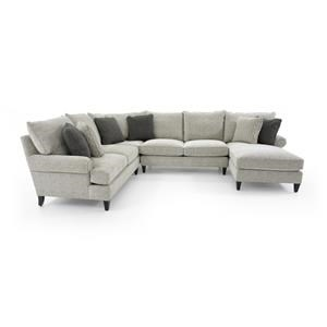 Bernhardt Signature Seating Customizable Sectional w/ Chaise