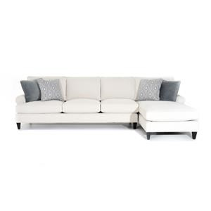 Bernhardt Signature Seating Customizable Sofa with Chaise