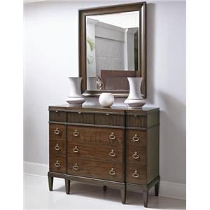 Bernhardt Beverly Glen Small Dresser and Mirror Set
