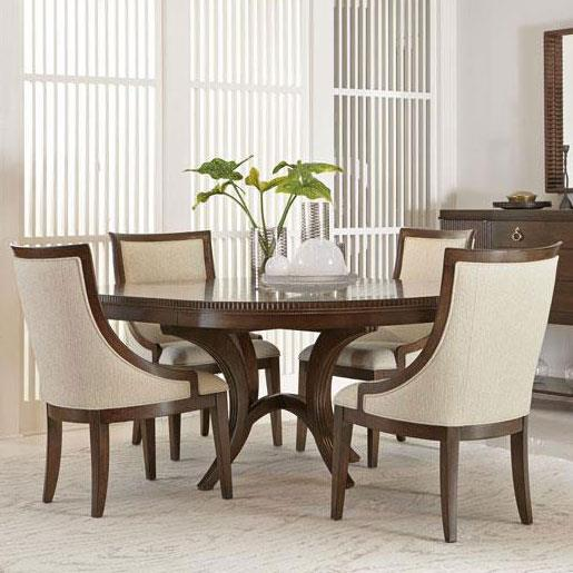 Bernhardt Beverly Glen 5 Piece Dining Set - Item Number: 361-275+6+4x547