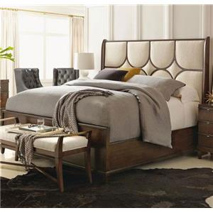 Bernhardt Beverly Glen King Upholstered Panel Bed