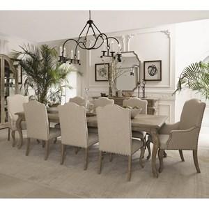 Bernhardt Campania 9 Piece Dining Set