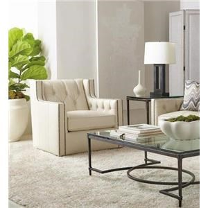 Bernhardt Candace Swivel Chair