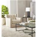 Bernhardt Candace Swivel Chair - Item Number: B7272S