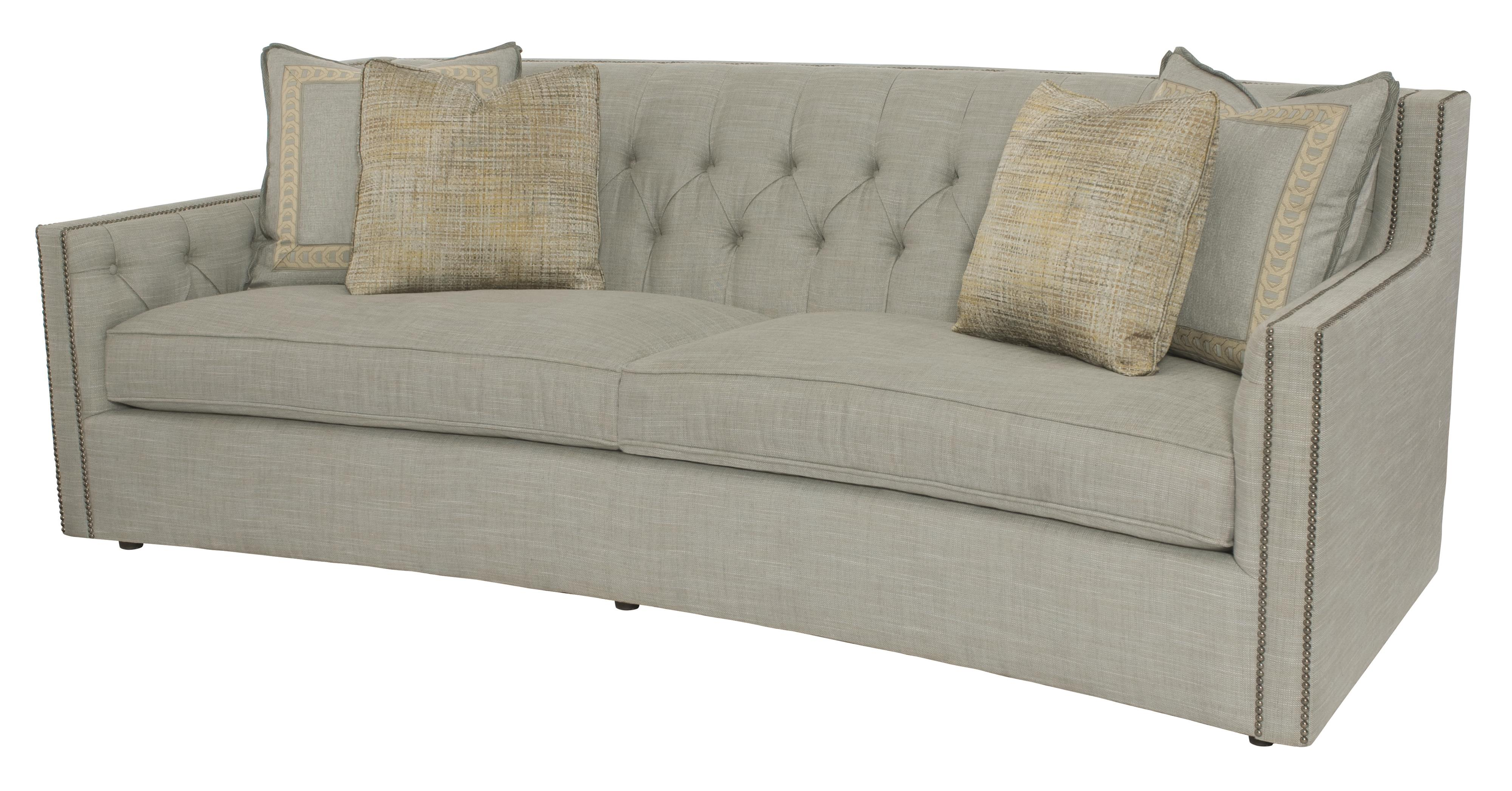 Bernhardt Candace Sofa with Transitional Elegance | Story ...