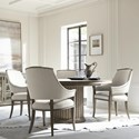 Bernhardt Canyon Ridge 5-Piece Table and Chair Set - Item Number: 397-272-273+4x562