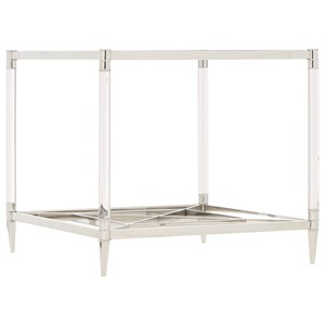 Metal Square End Table