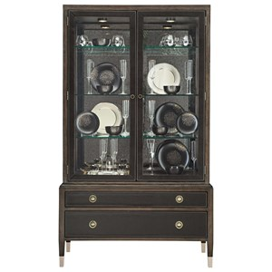 Bernhardt Clarendon China Cabinet with Adjustable Glass Shelves