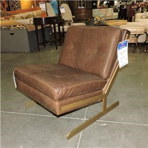 Bernhardt     Lance Leather Chair