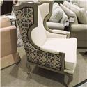 Bernhardt Clearance Chair Talbot Smokey Grey - Item Number: 233569824