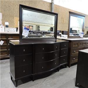Bernhardt Clearance Dresser and Mirror