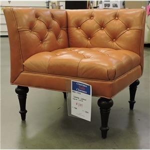 Bernhardt Clearance Upholstered Corner Chair