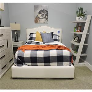 Full Size Upholstered Bed
