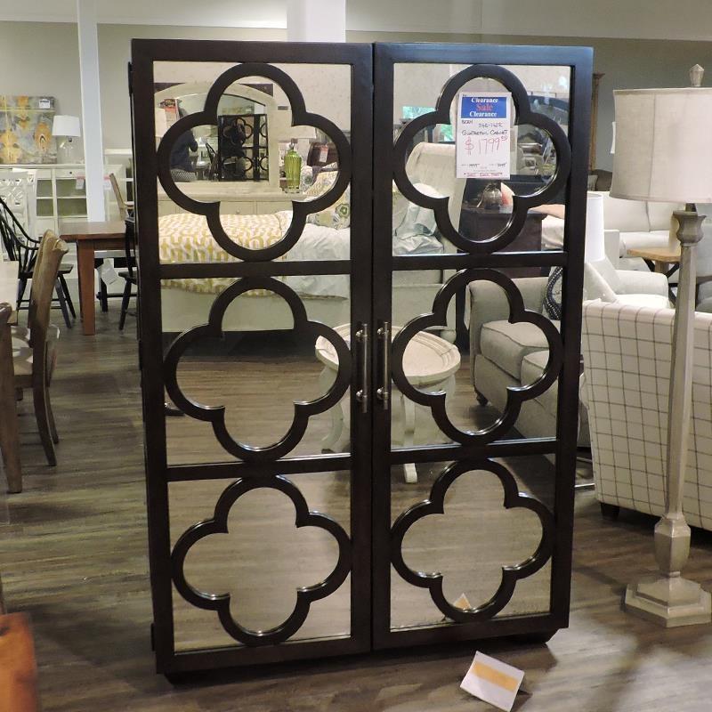 Quatrefoil Cabinet