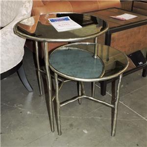 Bernhardt     Metal Nesting Tables