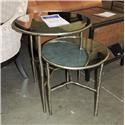 Bernhardt Clearance Metal Nesting Tables - Item Number: 896706460