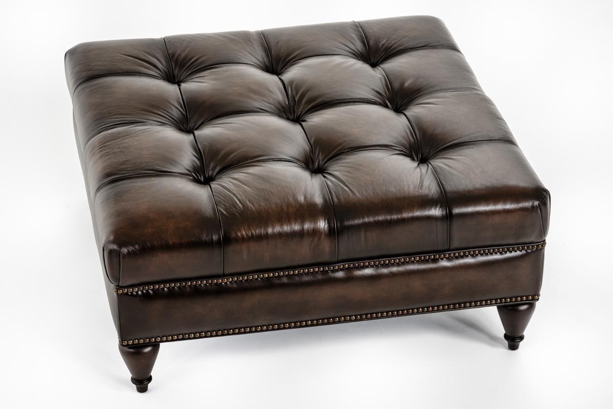 Bernhardt Colston 2002l Square Ottoman Baer S Furniture
